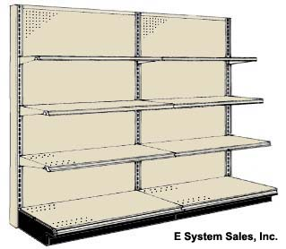 Wall Store Shelving