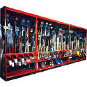 Wide Span Garden Tool Display